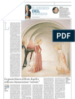 IL MUSEO DEL MONDO 3 - Annunciazione Di Beato Angelico (1438-40) - Repubblica 13.01.2013