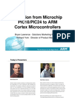 Migration From Microchip to ARM Cortex