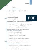 Soluciones al ponte a prueba de integrales indefinidas