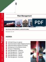 Shipyard Risk Management