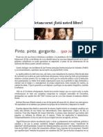 Pinto Pinto Gorgorito