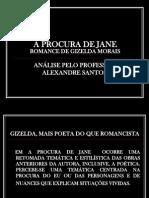 A PROCURA DE JANE ROTEIRO CRÍTICO