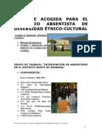 PLAN DE ACOGIDA AL ALUMNADO ABSENTISTA DE DIVERSIDAD ÉTNICA - CULTURAL.distritoNorte