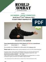 Enrolment Form KAPAP Combatives