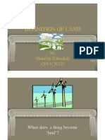 <LAND LAW I> Definition of Land part 1