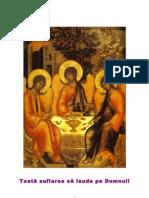 Comunicari de La Maica Domnului Si Domnul Iisus Hristos