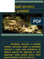 P2-Instalatii Electrice Gradini