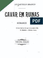Cavar em Ruínas, de Camilo Castelo Branco