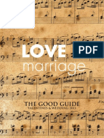 Love and Marriage Good Guide In Good Company Catalogue 2013