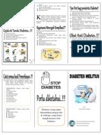 Leaflet Diabetes Melitius