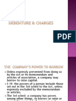 <COMPANY LAW I> Debenture & Charges