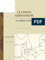 classificazione lingue germaniche