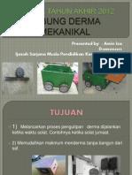 Projek Tahun Akhir 2012 Tdm Amin