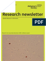 Alzheimers Research Newsletter August 2012