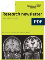 Alzheimers Research Newsletter May 2012