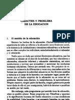 el problema educativo