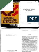 Fluxurile de Migratie in Romania 1984