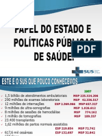 Papel Do Estadoe Politicas Publicas de Saude