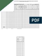 Format Pendataan PHBS 2009