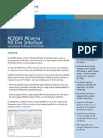 AC2000 Minerva MX Fire Interface