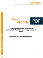 CAR IASI Student Competition ElectroMobility2 2013 Tech Req