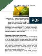 Dieta alcalină şi acidă