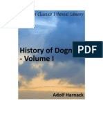 History of Dogma Vol 1. a Harnack