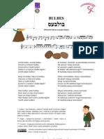 Bulbes - żydowska piosenka jidysz