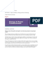 chapter 6 energy  power fundamentals