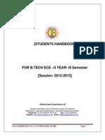Handbook 1 b.tech Ece III Sem Quantity 180