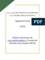 Freud, Sigmund - Un caso de paranoia contrario a la teoria psicoanalitica.pdf