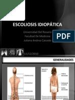 Presentacion Escoliosis Idiopática