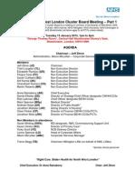 PCt Agenda 15 jan