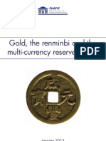 Gold, the renminbi and the