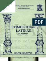 Etimologías Latinas UANL