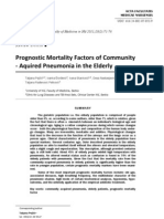 Prognostic Mortality