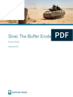 Sinai The Buffer Erodes