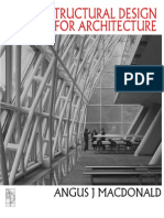 Structural Design for Architecture