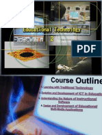 A Course Outline in Educational Technology 2