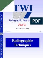 TWI Radiographic Interpretation.(Part3)
