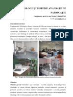 Tehnologii Si Sisteme Avansate de Fabricatie