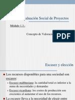 evaluacion economica proyectos