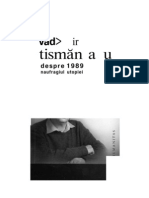 Naufragiul Utopiei- Valdimir Tismaneanu