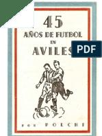 45 años de futbol en aviles