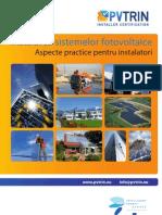 Instalarea sistemelor fotovoltaice
