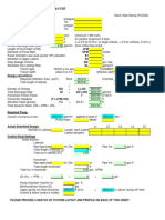 Pump Design Worksheet