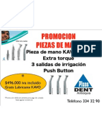KAVO Promocion Piezas de Mano