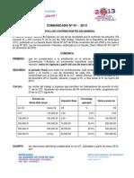 Comunicado 01-2013 DGI