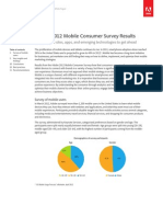 2012 Mobile Consumer Survey