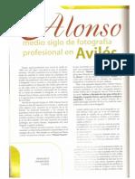 Alonso Fotografo Avilesino en Los Principios Del Siglo XX